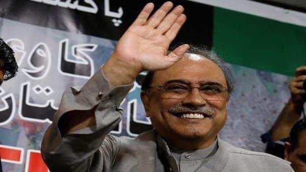 A file photo of former Pakistan president Asif Ali Zardari. Photo: Reuters