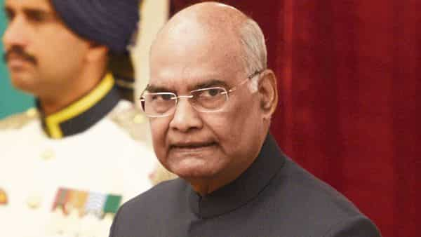 President Kovind tweeted expressing his concern about the heavy rainfall in Telangana. (MINT_PRINT)