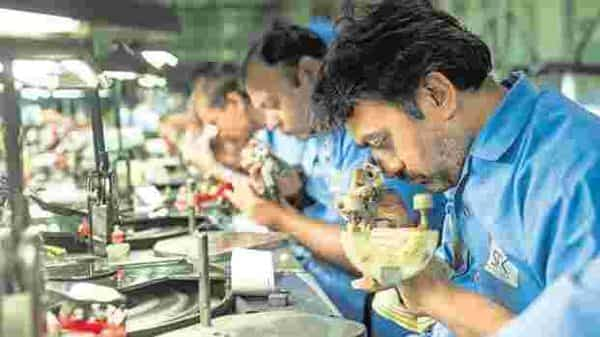 The diamond industry works on credit which ranges from 30-180 days and the diamonds are sold only on reference basis. Photo: Aniruddha Chowdhury/Mint