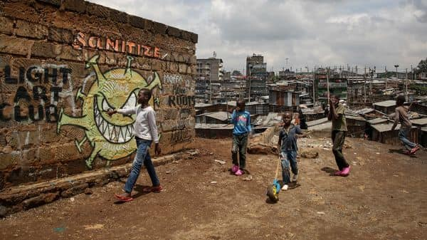 Kenya's economy contracted in the second quarter for the first time in two decades with GDP falling 5.7% compared to the same period a year earlier (Photo: AP)