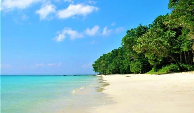 Radhanagar in Andaman and Nicobar Islands
