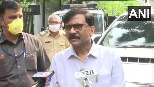 Shiv Sena leader Sanjay Raut. (ANI)