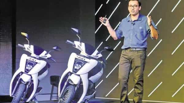 Ather Energy co-founder Tarun Mehta says the firm's electric scooters are going to have a fantastic value for years. (AFP)