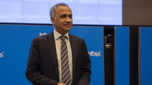 Salil Parekh, chief executive officer of Infosys (Photo: Bloomberg)
