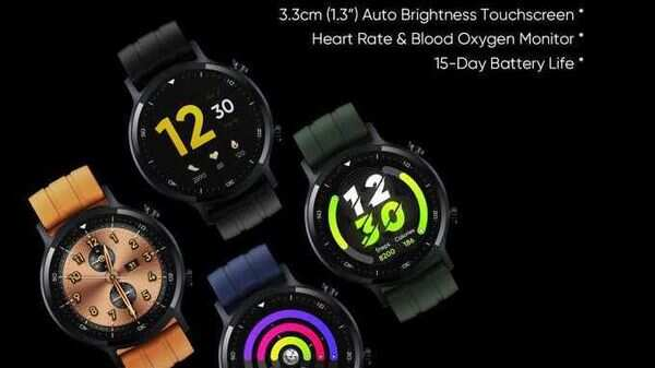 In the teaser, the Watch S is shown in 4 different straps