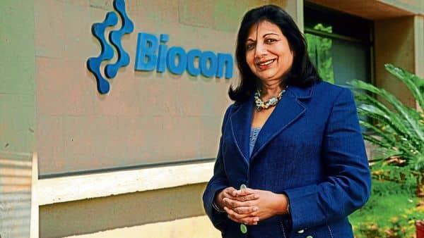 Kiran Mazumdar-Shaw, chairperson and MD of Biocon, (Mint)