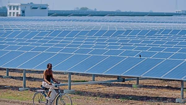 In August, Essel Infraprojects Ltd sold its operating portfolio of 205MW to Adani Green Energy at an enterprise value of  ₹1,300 crore. (Pradeep Gaur/ Mint)