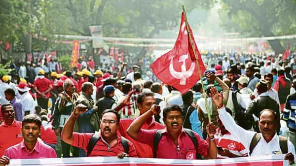 Trade unions across party affiliations said the fight will shift from physical to digital and mass movements will become targeted strikes to seek negotiated results. priyanka parashar/mint