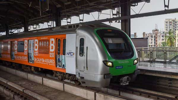 Mumbai Metro: Temperatures inside the coaches will be maintained between 25-27 degree Celsius. (PTI)