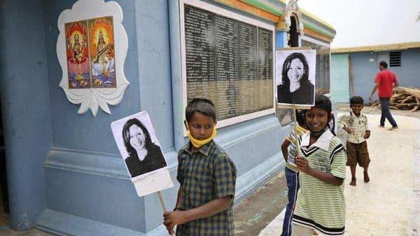 Kamala Harris Native Villages In Tamil Nadu Celebrate Her Win In Us See Pics