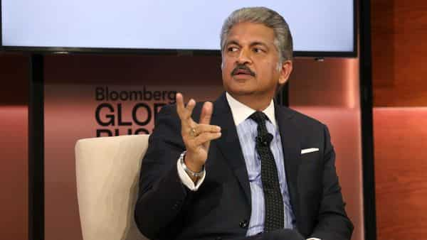 A file photo of Anand Mahindra. (Bloomberg)