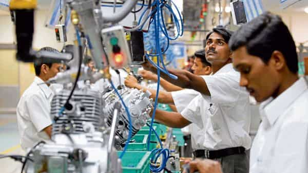 A file photo of a Bajaj Auto factory. Workers want the firm to stop operations at its Aurangabad plant. (Bloomberg)