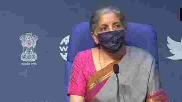 Finance Minister Nirmala Sitharaman. (ANI)