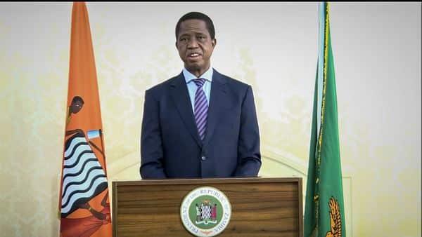 Edgar Chagwa Lungu, President of Zambia (AP)