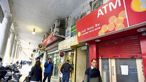 Moratorium imposed on Lakshmi Vilas Bank on the basis of application submitted by RBI to the Central Govt under section 45 of the Banking Regulation Act, 1949 (Photo; HT)
