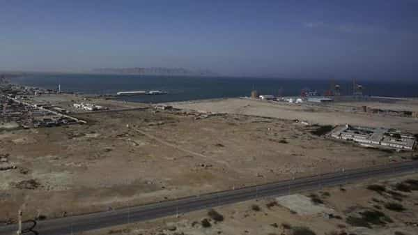 A view of the Gwadar port. The CPEC is a $46 billion project launched with the help of China to connect western China to southern Pakistan's port city of Gwadar, giving Beijing an opening to the Arabian Sea. Photo: AP (AP)
