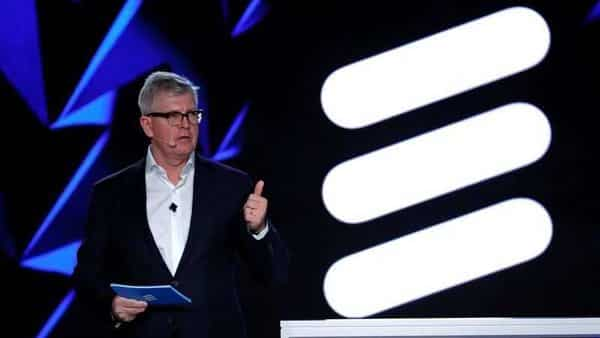 Ericsson Chief Executive Officer Borje Ekholm holds a news conference during the Mobile World Congress in Barcelona, Spain February 26, 2018. REUTERS/Yves Herman/File Photo (REUTERS)