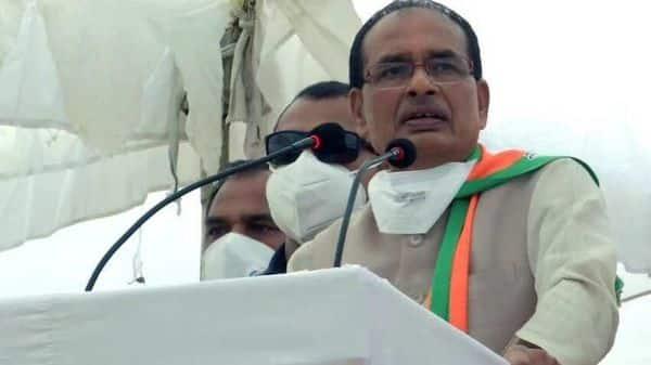 Madhya Pradesh CM Shivraj Singh Chouhan. (ANI)