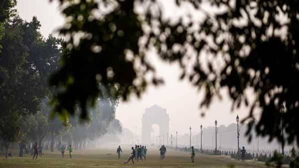 Delhi's ventilation index – a product of mixing depth and average wind speed – was around 5,000 square metre per second on Wednesday (AFP)