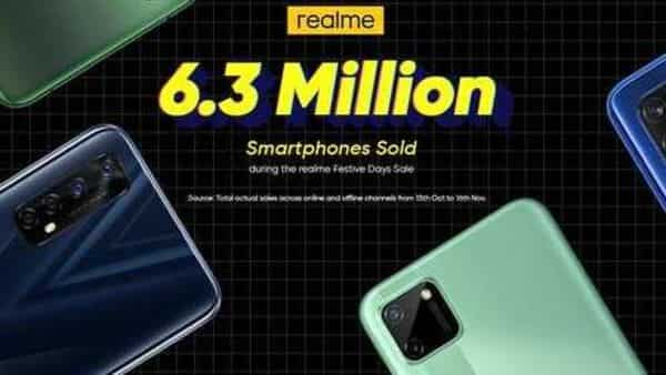 The Realme Festive Days sale was conducted for a period of 45 days
