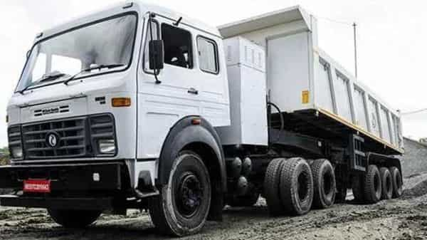 The flagship electric truck of the Company IPLT Rhino 5523 in operation. (Infraprime Logistics Technologies (IPLTech))