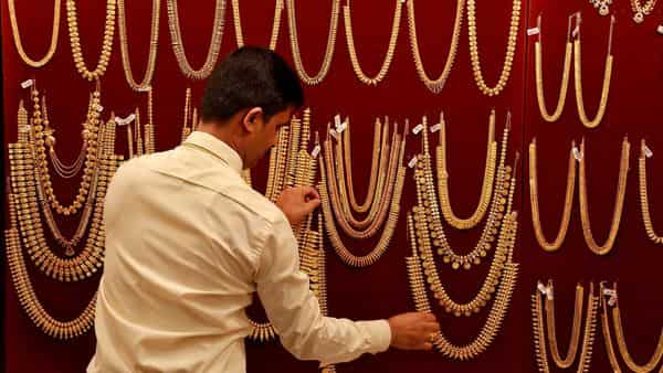 Gold rates today: On MCX, prices slipped to  ₹50,180 per 10 gram