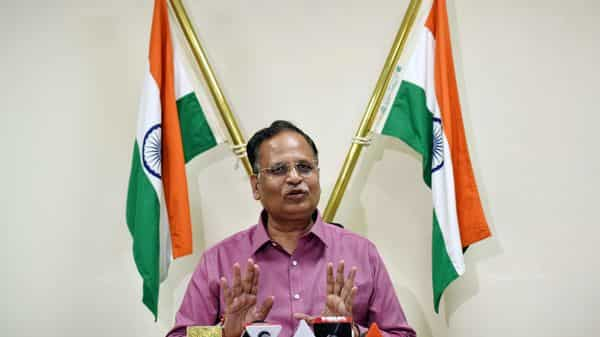 File Photo: Delhi Health Minister Satyendar Jain (ANI Photo )