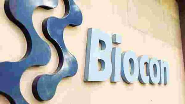 Shares of Biocon Ltd closed at  ₹419.35 per scrip on BSE, down 0.18% from its previous close. (Photo: Mint)