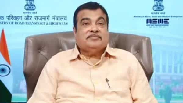 Road Transport Minister Nitin Gadkari speaking at 9th Edition of Auto Serve 2020