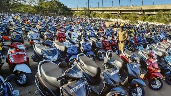 India exports two-wheelers mainly to African, Asian and Latin American countries (Photo: PTI)