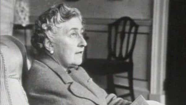 Author Agatha Christie is seen in this undated still image. Courtesy of BritBox (Unfinished Portrait Documentary)/BBC Studios/Handout via Reuters.