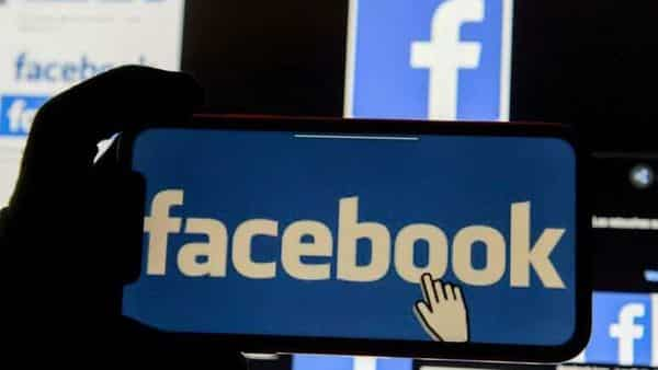 FILE PHOTO: The Facebook logo is displayed on a mobile phone in this picture illustration taken December 2, 2019. REUTERS/Johanna Geron/Illustration/File Photo (REUTERS)