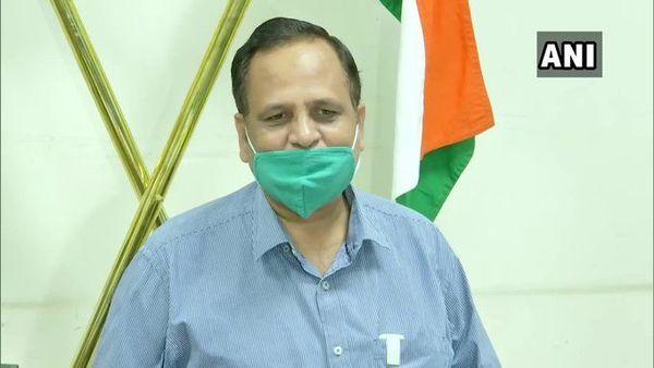 Delhi Health Minister Satyendra Jain. (Photo: ANI)