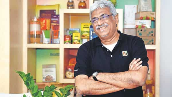 Hari Menon, CEO of BigBasket (Mint)
