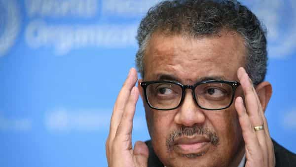 WHO Director-General Tedros Adhanom Ghebreyesus  (AFP)