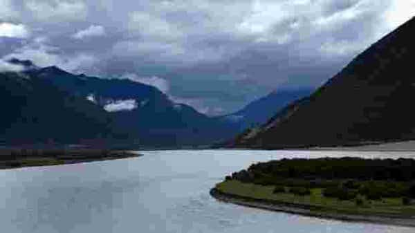 The Yarlung Tsangpo River river eventually becomes the Brahmaputra and then the Meghna, which are important for irrigation and have religious significance in India and Bangladesh