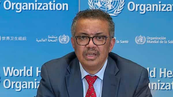A file photo of WHO Chief Tedros Adhanom Ghebreyesus. (Photo: AFP)