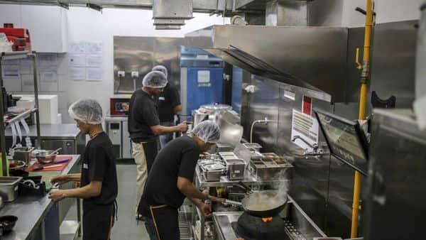 The Rebel Foods cloud kitchen in Mumbai. Photographer: Dhiraj Singh/Bloomberg