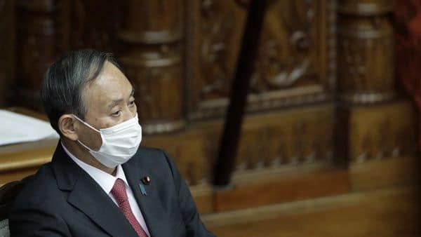 Japan's prime minister Yoshihide Suga. (Bloomberg)