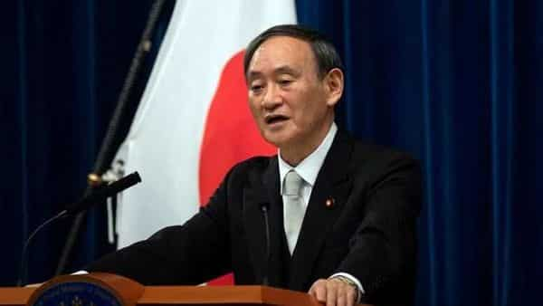 Yoshihide Suga speaks during a news conference following his confirmation as Prime Minister of Japan in Tokyo, Japan September 16, 2020. Carl Court/Pool via REUTERS/File Photo (REUTERS)