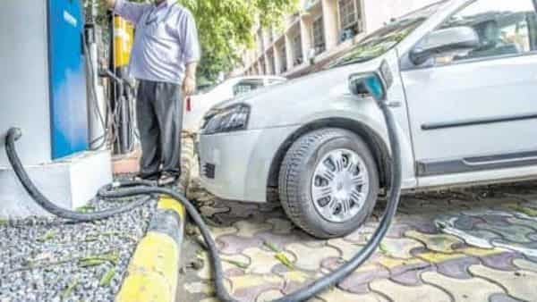 At present availability of finance is considered a key hurdle for sales and other aspects of the electric vehicle industry. Photo: Pradeep Gaur/Mint