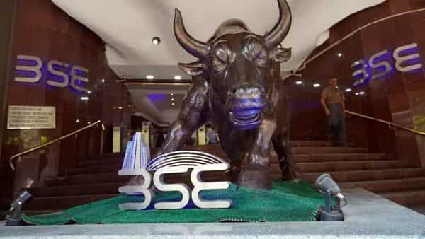 FILE PHOTO: A man walks out of the Bombay Stock Exchange (BSE) building in Mumbai, India, February 28, 2020. REUTERS/Hemanshi Kamani/File Photo (REUTERS)