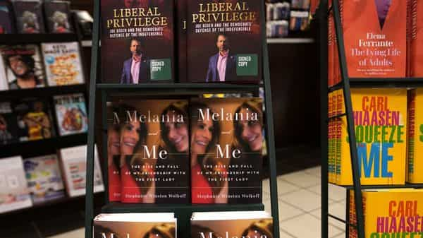 File Photo: A display at Barnes & Noble bookstore on 5th Avenue in New York (AFP)