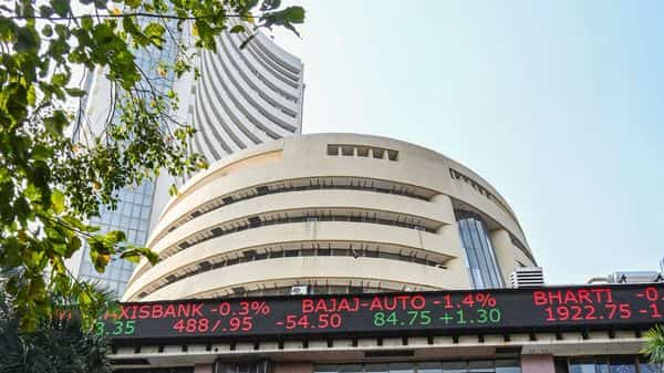 Equity benchmarks rallied to record highs on Friday. Photo: PTI