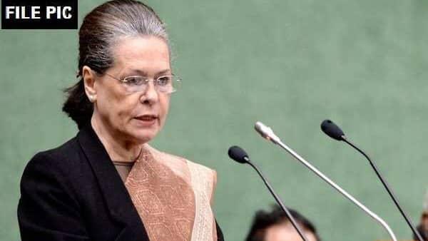 A file photo of Congress interim President Sonia Gandhi. (ANI)