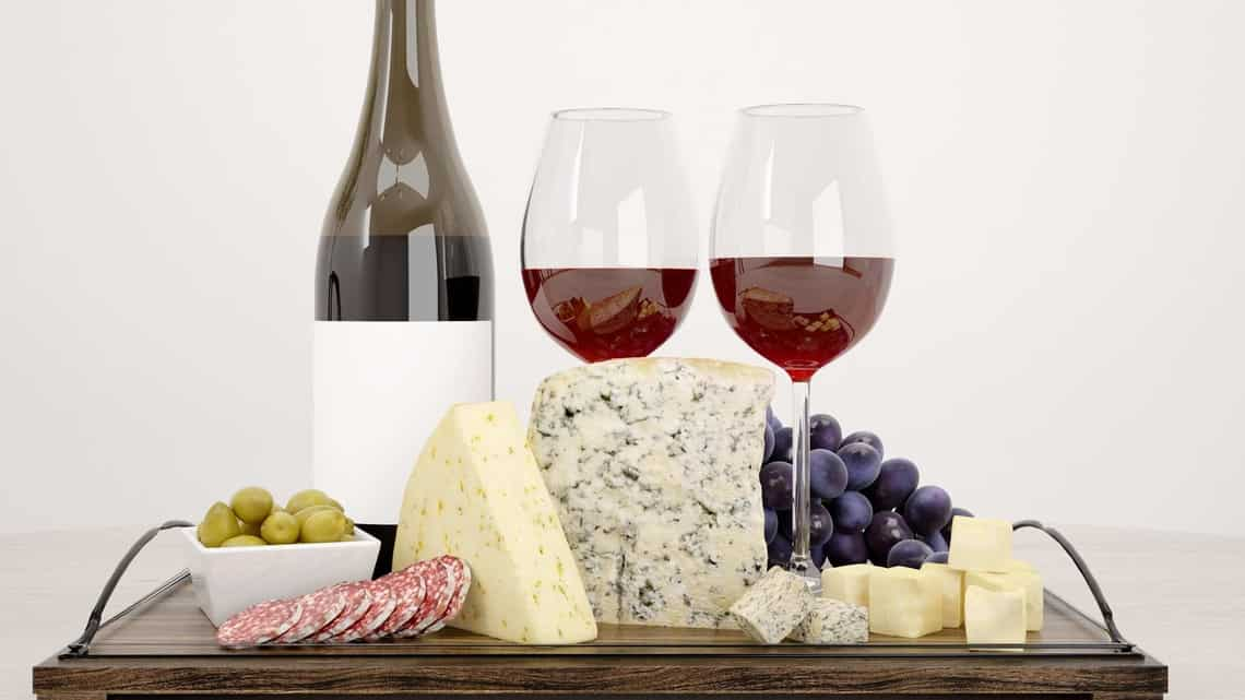 Just in time for Christmas: consuming wine and cheese stems cognitive decline