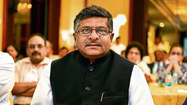Union minister Ravi Shankar Prasad (Mint)