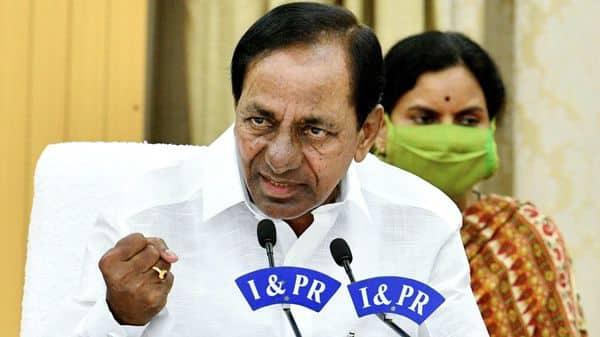 Telangana Chief Minister K Chandrasekhar Rao.