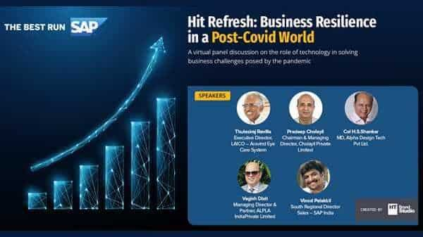 Hit Refresh: Business Resilience in a post-Covid World
