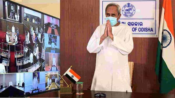 Odisha Chief Minister Naveen Patnaik today informed that Governor Ganeshi Lal and his wife Susheela Devi have tested Covid-19 positive. (ANI)